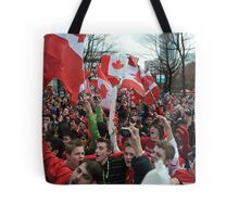 Canada during Olympics Tote Bag