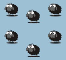 Baa Baa Black Sheep Have You Any Wool Blue Duvet Cover Bedspread Pillow Kids Tee