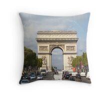 The Arc De Triomphe  Throw Pillow