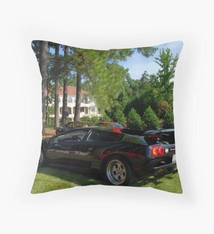 Passive Bull Throw Pillow