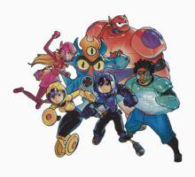Big Hero 6 Kids Tee