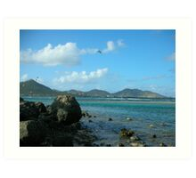 Orient Bay - Saint Martin  Art Print