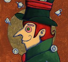 Mad Hatter (SOLD) by Donna Huntriss