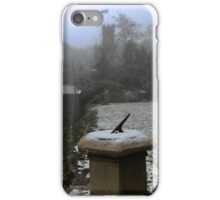 Snow on The Kings  ( 2 ) iPhone Case/Skin