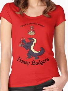 Team Honey Badgers Women's Fitted Scoop T-Shirt