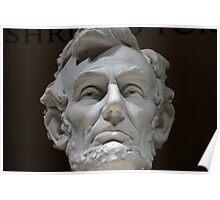 Abraham Lincoln in Washington, DC Poster