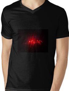 Red Hot Voice Mens V-Neck T-Shirt