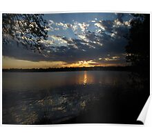Sunset Lake Harriet Poster