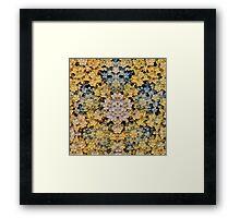 'Precious Clusters' Framed Print