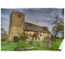 St Margaret Church. Poster