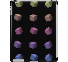 Rainbow cubes iPad Case/Skin