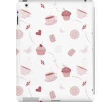 Teacups and sweets iPad Case/Skin