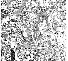 Doodle Art by Steve Hester