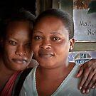 Sisters Of Bundibugyo by Peter Maeck
