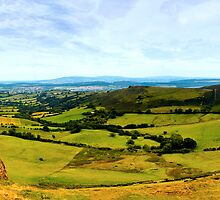 Caer Caradoc Panorama by James  Key