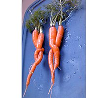 carrots on a double date . . . . Photographic Print