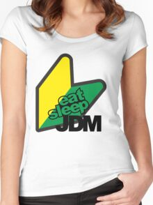 JDM Women's Fitted Scoop T-Shirt