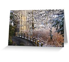Ironbridge Shropshire South Underpass Greeting Card