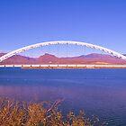 Roosevelt Lake Bridge by MaryLynn