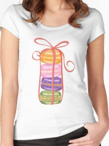 Macaroons Women's Fitted Scoop T-Shirt