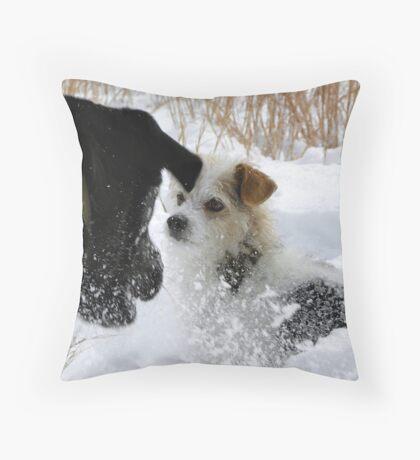 PowerPLay Throw Pillow