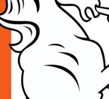 Denver Broncos logo 1 Sticker