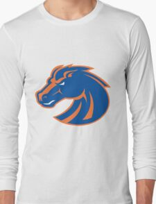Denver Broncos logo 4 Long Sleeve T-Shirt