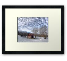 HDR Old Building Framed Print