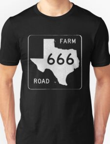 Texas Farm Road 666 T-Shirt