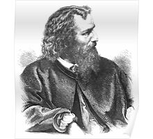 Friedrich Kriehuber Hans Gasser 1871  Poster