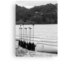 oar in arow Canvas Print