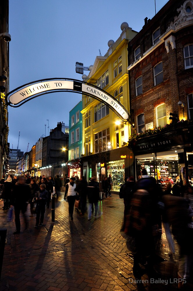 Carnaby St after dark by Darren Bailey LRPS
