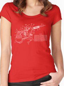 Tattoo Machine Patent Women's Fitted Scoop T-Shirt