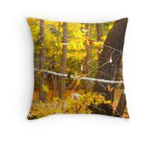 Autumn speed Throw Pillow