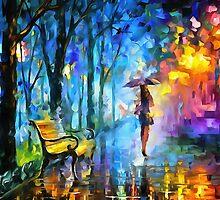 Misty Umbrella by DigitalLeonid