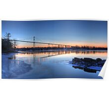 Thousand Islands Sunrise Poster