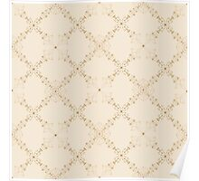 Classic and elegant floral pattern  Poster