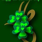 St. Patrick&#x27;s Tribal Shamrocks by patjila