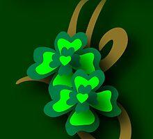 St. Patrick's Tribal Shamrocks by patjila