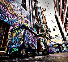 Hosier Laneway by Tim Richardson