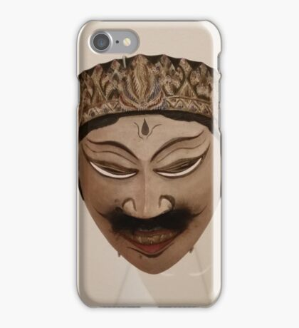 INDONESIAN MASK iPhone Case/Skin