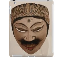 INDONESIAN MASK iPad Case/Skin
