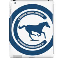 Indianapolis Colts logo 4 iPad Case/Skin
