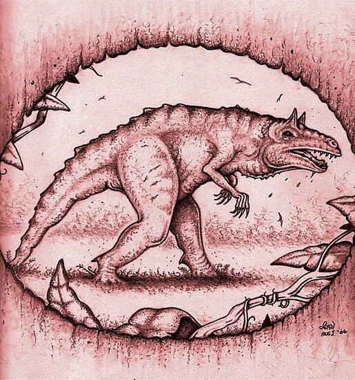 The Carnotaurid by Sean Phelan