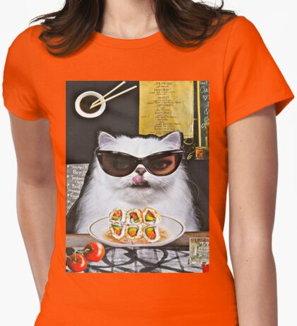 Fine Dining Womens Fitted T-Shirt
