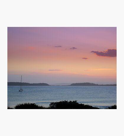 'Pink Sunset' - South Coast Australia Photographic Print