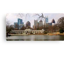 Atlanta from Piedmont Park Canvas Print