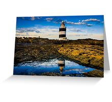 Hook Lighthouse Greeting Card