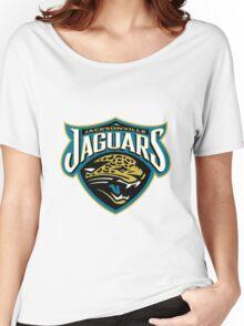 Jacksonville Jaguars logo 3 Women's Relaxed Fit T-Shirt