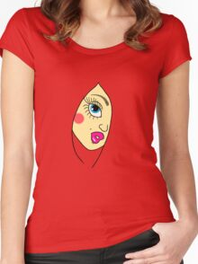 Girl2 Women's Fitted Scoop T-Shirt